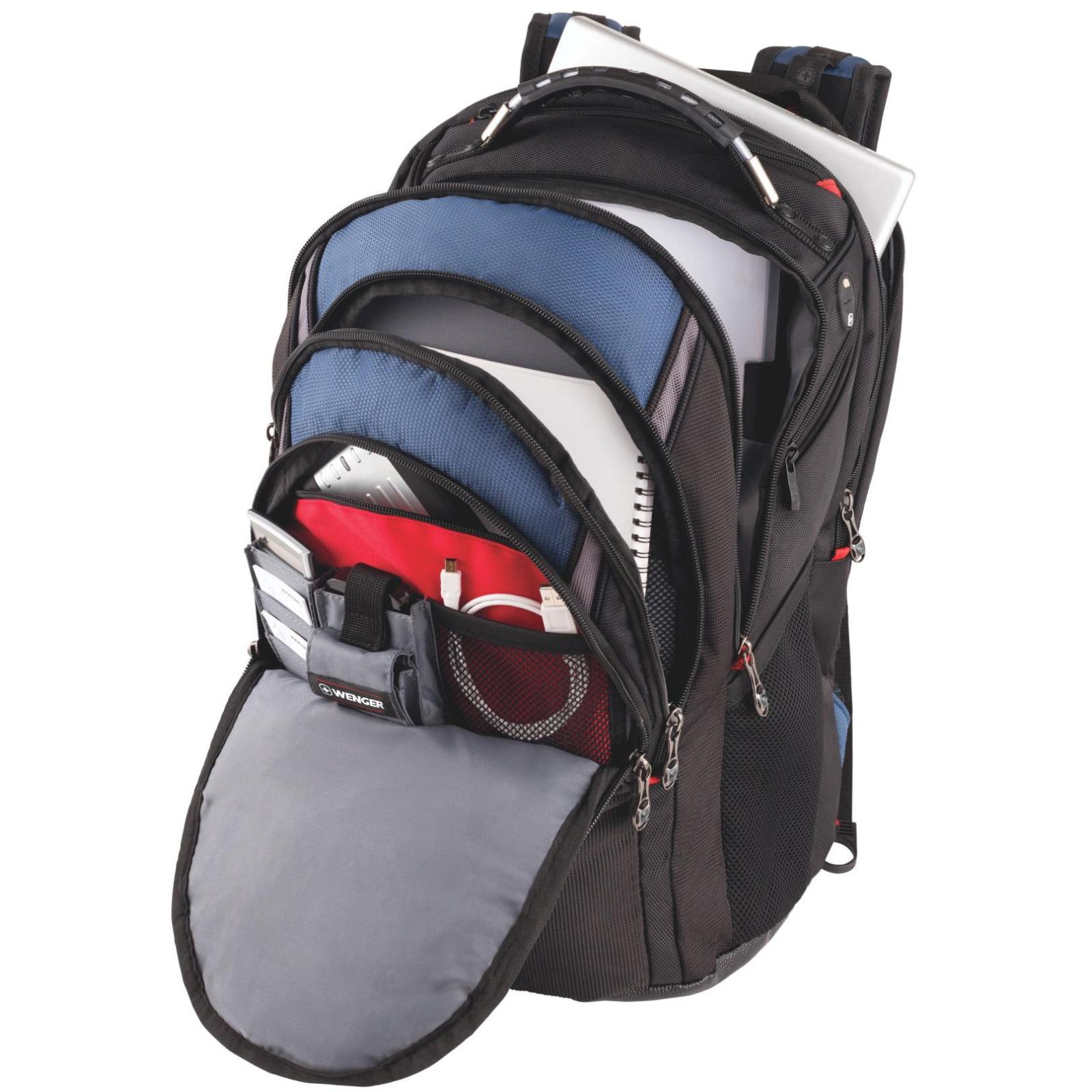 "Рюкзак для ноутбука Wenger 17"" Ibex Black/Blue (600638) изображение 5"