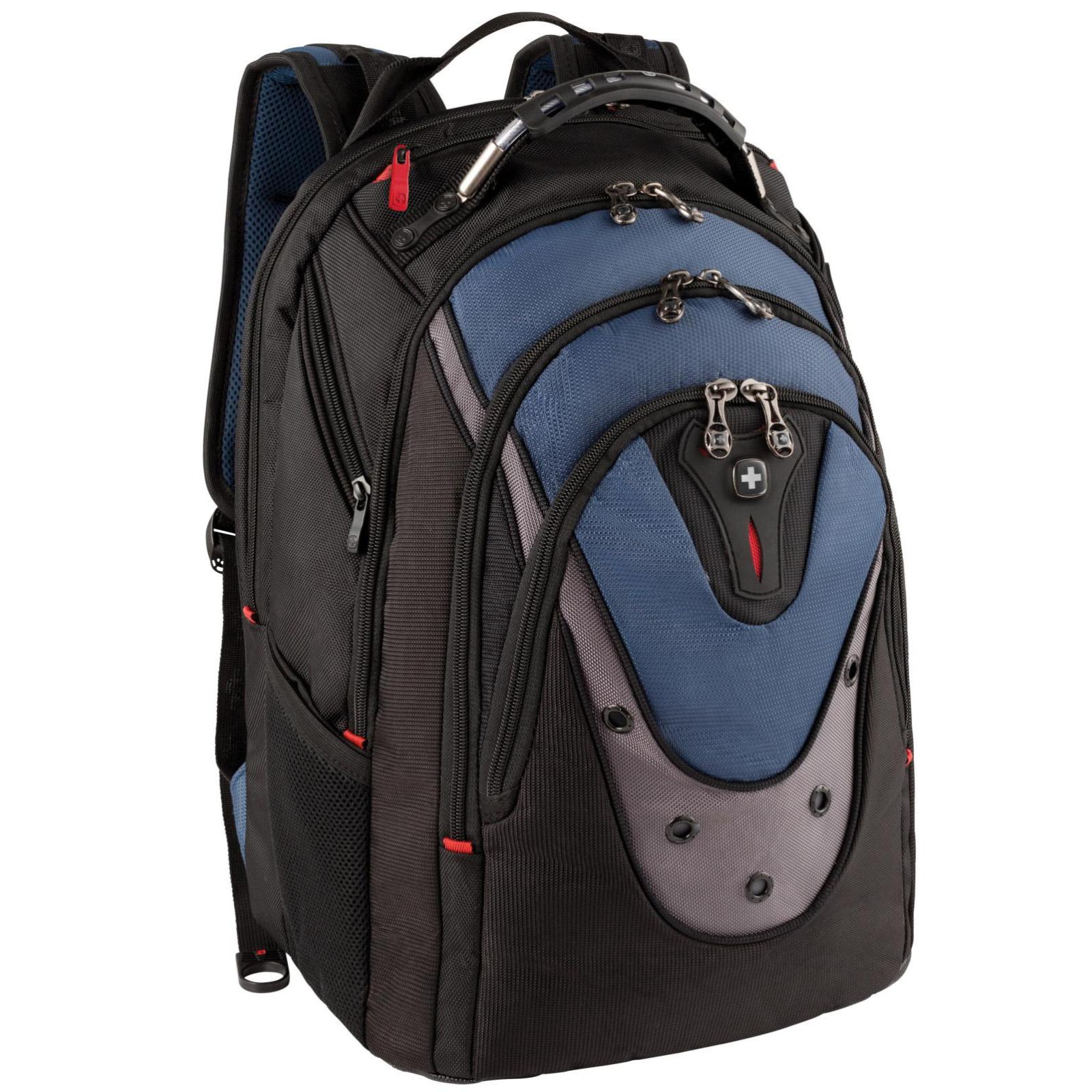 "Рюкзак для ноутбука Wenger 17"" Ibex Black/Blue (600638)"