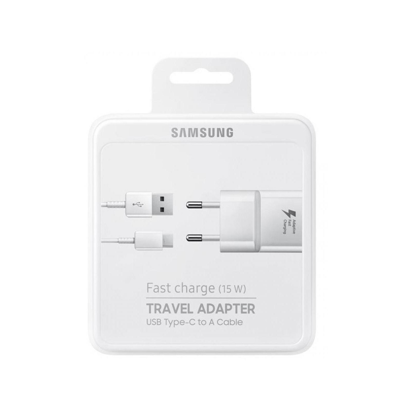 Зарядное устройство Samsung 2A + Type-C Cable (Fast Charging) White (EP-TA20EWECGRU) изображение 5