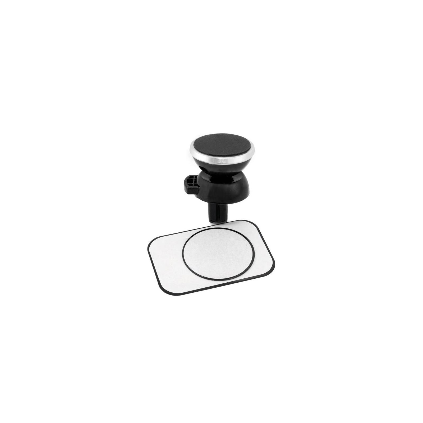 Универсальный автодержатель Extradigital Magnetic Holder Black/Silver (CRM4114) изображение 5