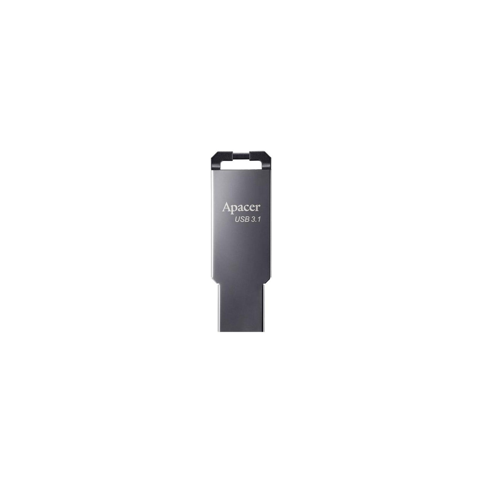 USB флеш накопитель Apacer 16GB AH360 Ashy USB 3.1 Gen1 (AP16GAH360A-1)