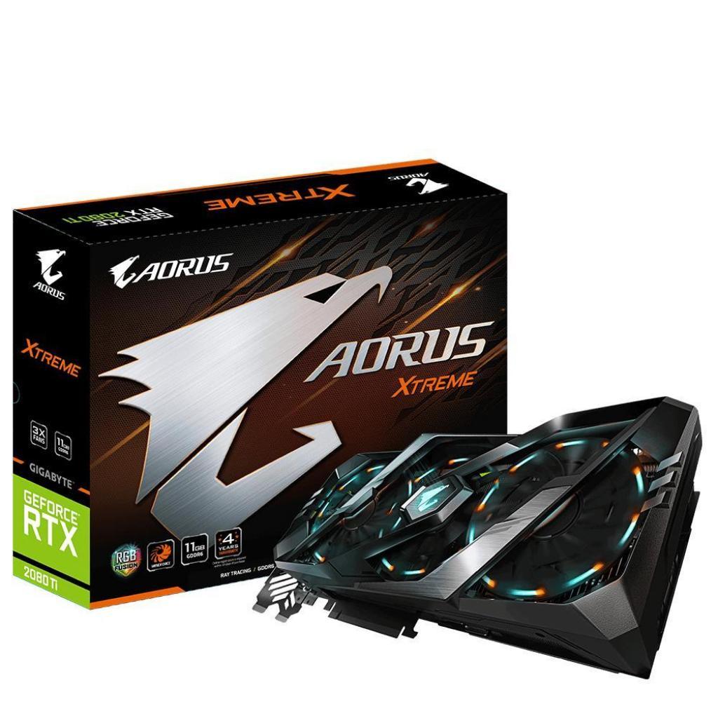 Видеокарта GIGABYTE GeForce RTX2080 Ti 11Gb AORUS X (GV-N208TAORUS X-11GC)
