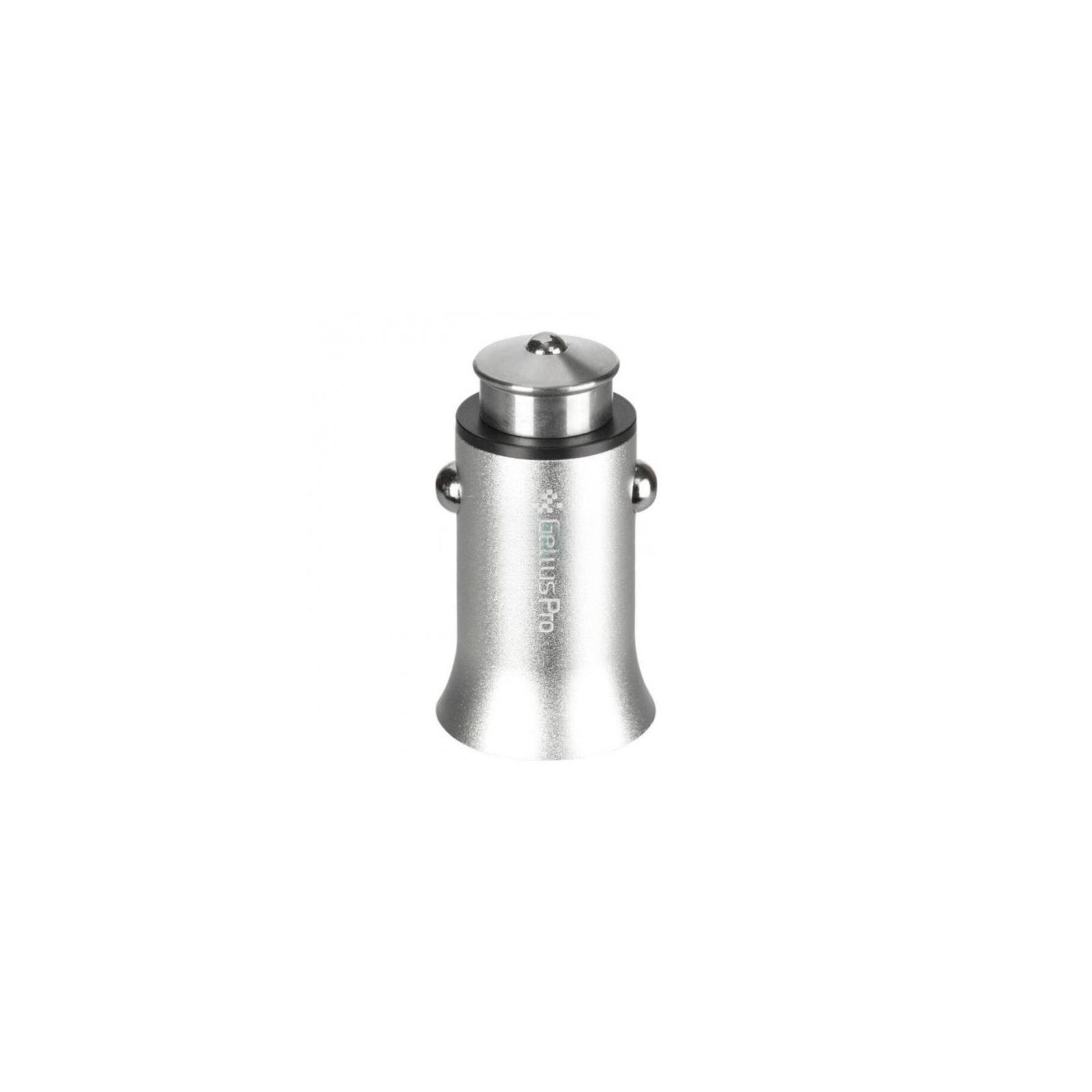 Зарядное устройство Gelius Pro Edition USB Fast Charger 5-12v 3A QC 3.0 (GL-03) Silver (62840)