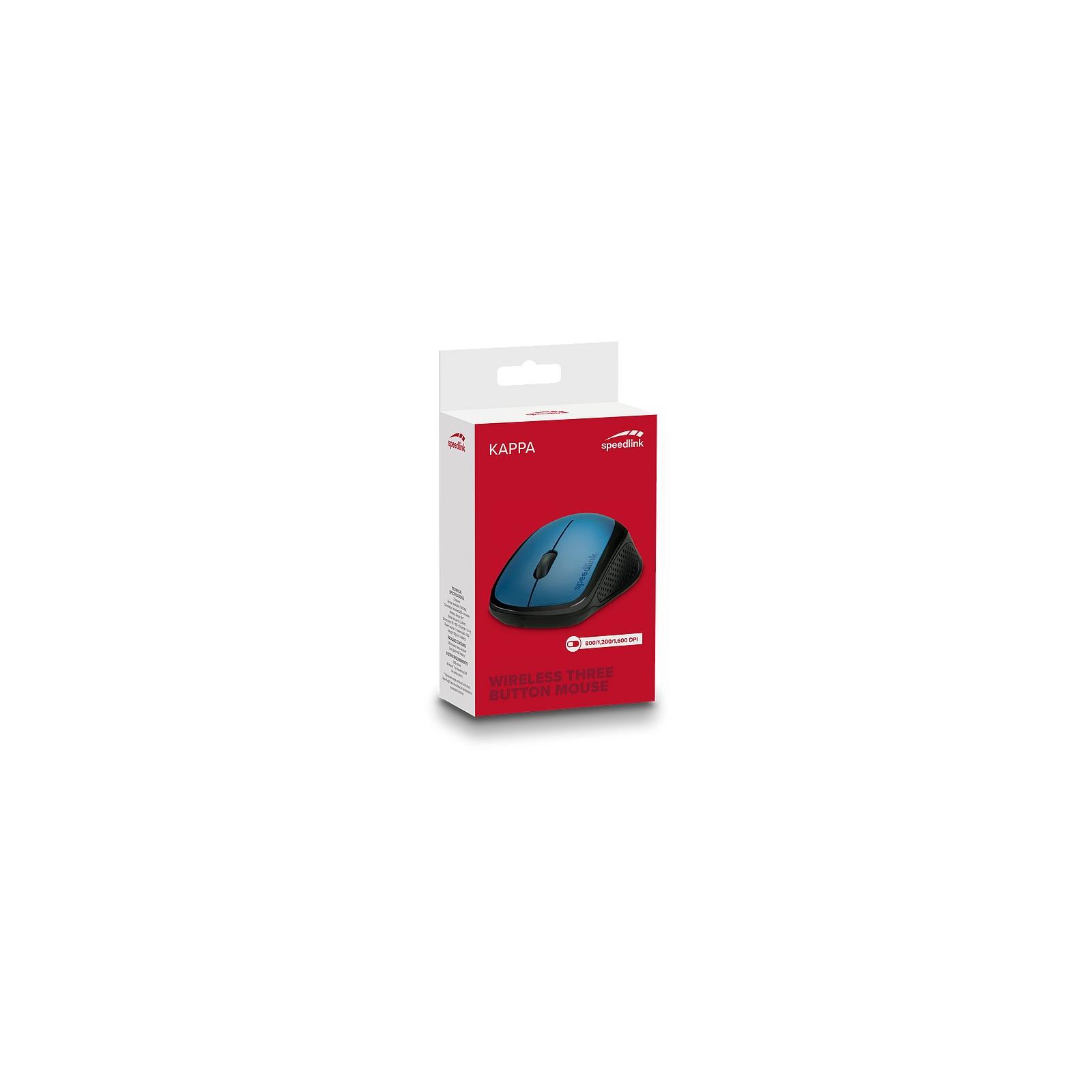 Мышка Speedlink Kappa Wireless Black (SL-630011-BK) изображение 3