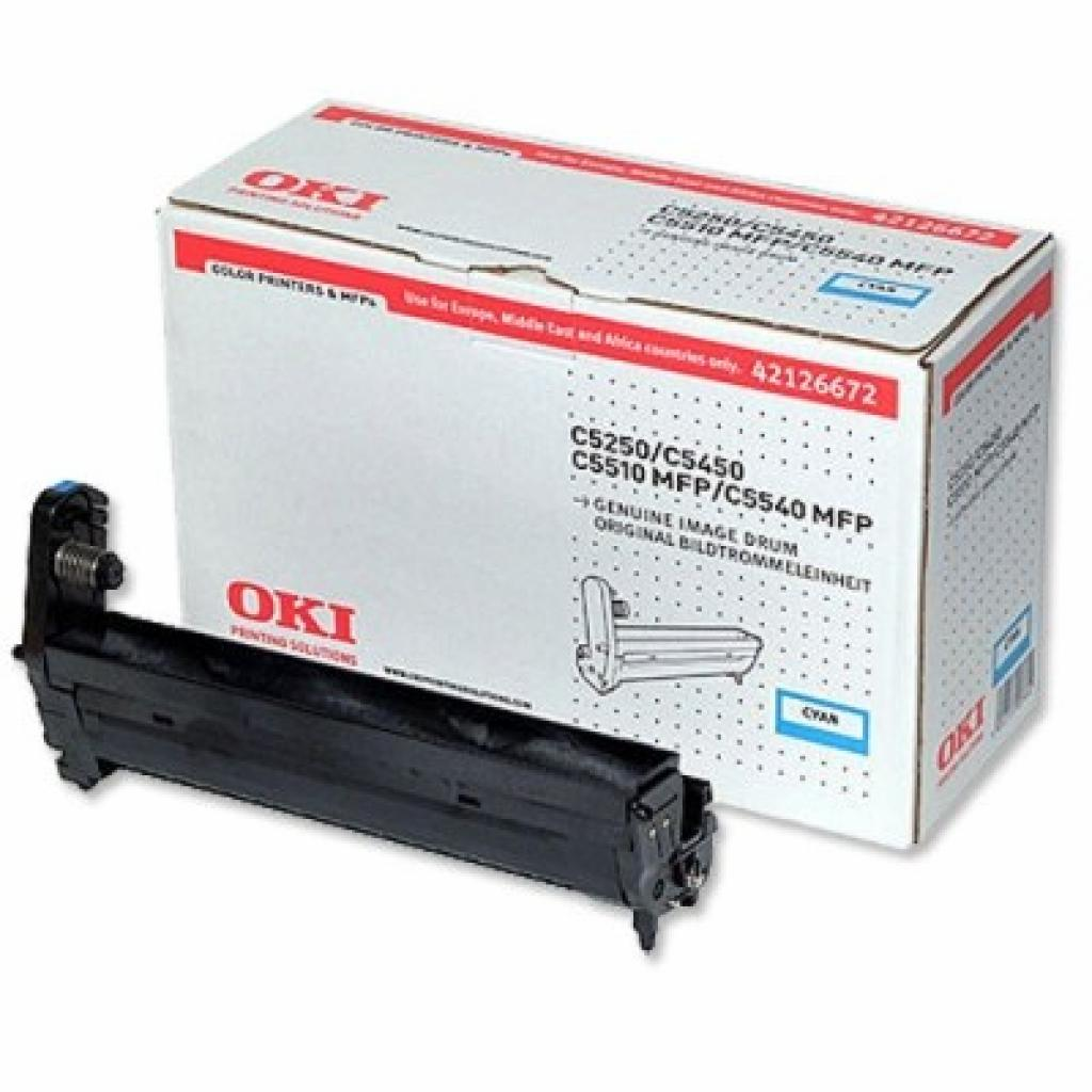 Фотокондуктор OKI C5250/5450/5510MFP/5540MFP Cyan (42126672)