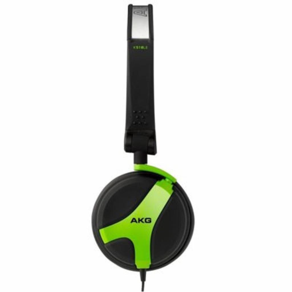 Наушники AKG K 518 LE зелений (K518LEGRN)