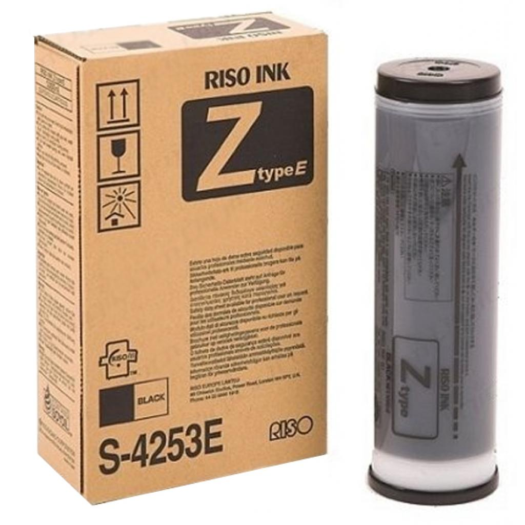 Краска RISO Z typeE black (для RZ/EZ-200/300/370) 25К (S-4253E)