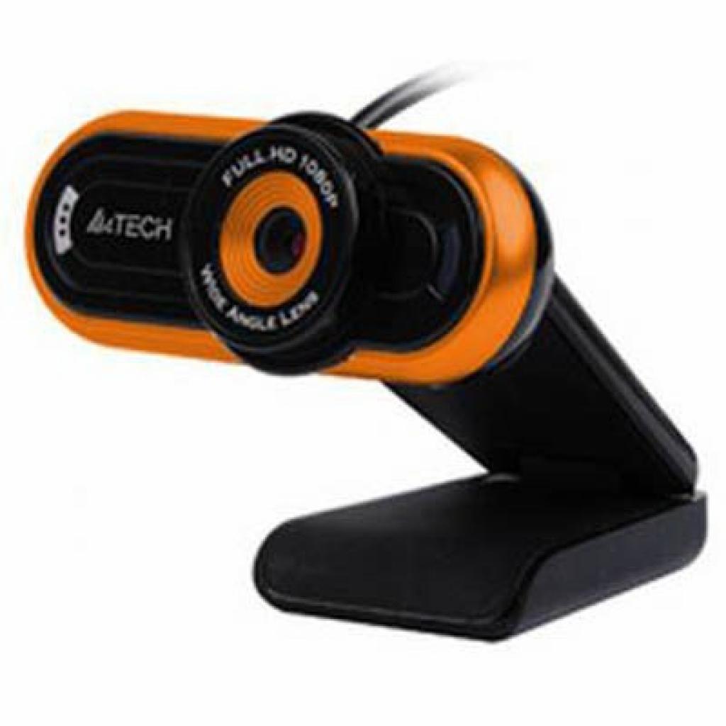Веб-камера A4tech PK-920 H HD black/orange (PK-920 H-2 HD)