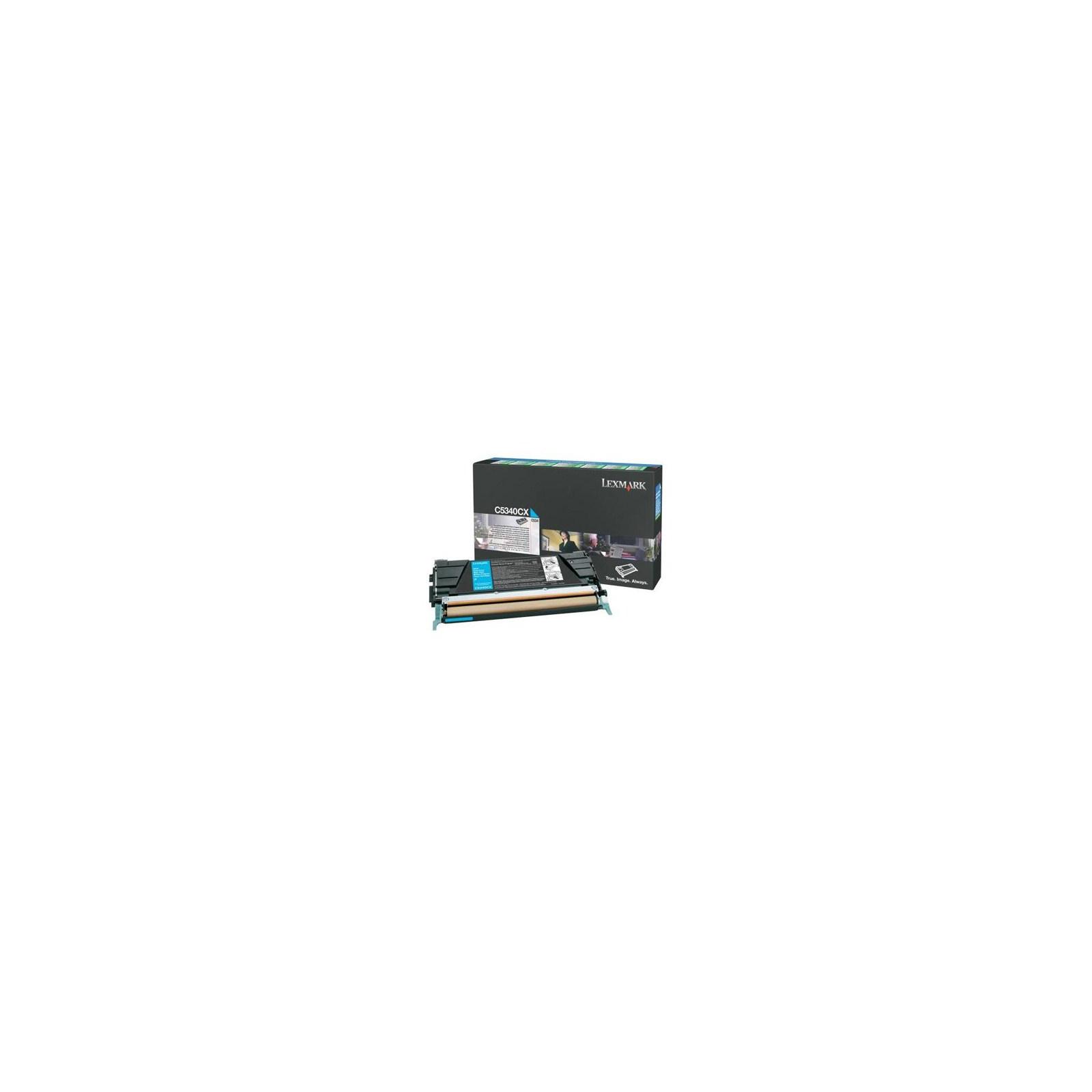 Картридж LEXMARK C534 Cyan 7k (C5340CX)