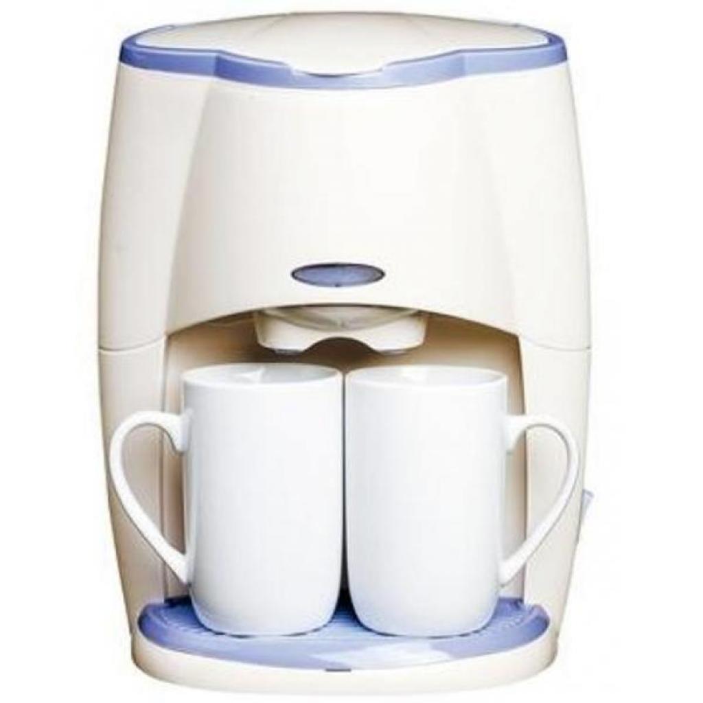 Кофеварка SATURN ST-CM0171 white