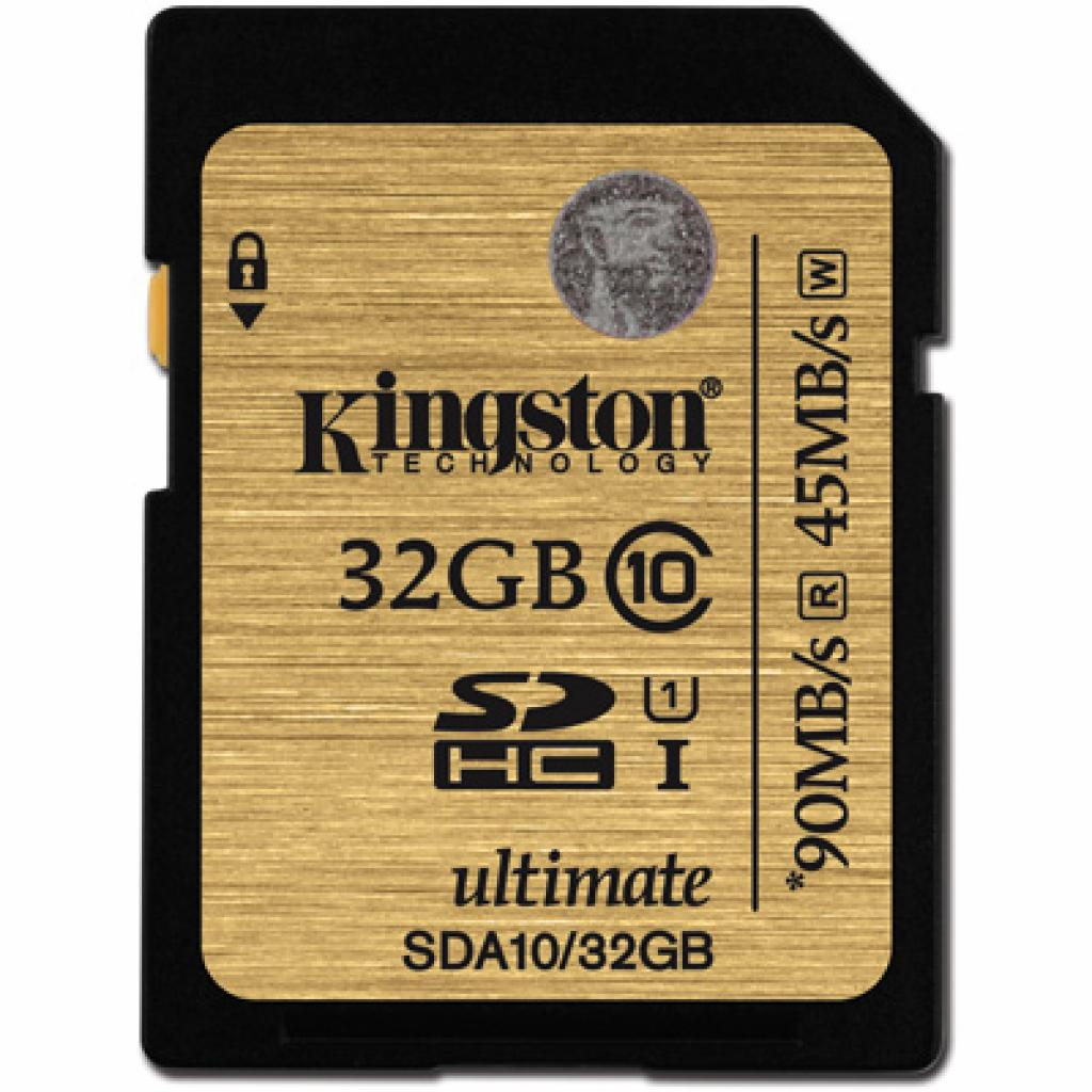 Карта памяти Kingston 32Gb Ultimate SDHC class 10 UHS-I (SDA10/32GB)