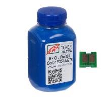 Тонер AHK HP CLJ Pro 200/M251/M276n (131A) Cyan+chip (1505158)