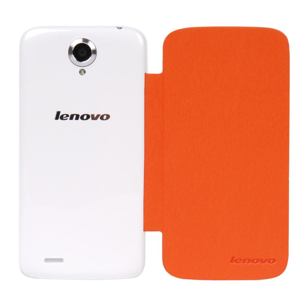 Чехол для моб. телефона Lenovo S820 SMART FILP COVER ORANGE (PG39A4658J)