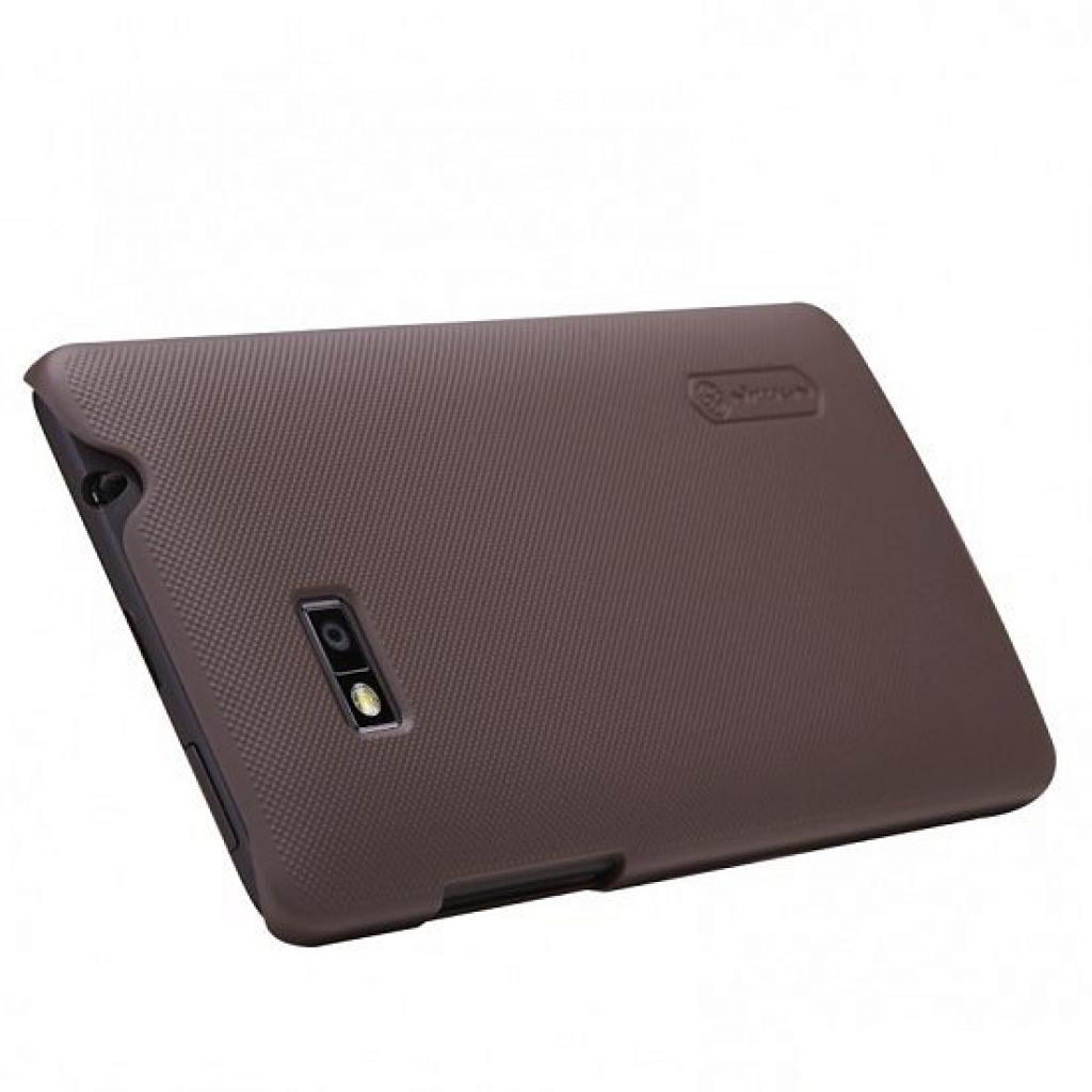 Чехол для моб. телефона NILLKIN для HTC Desire 600 /Super Frosted Shield/Brown (6065721) изображение 2