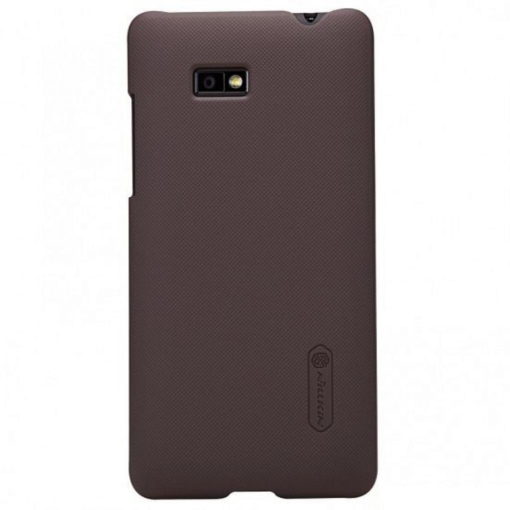 Чехол для моб. телефона NILLKIN для HTC Desire 600 /Super Frosted Shield/Brown (6065721)