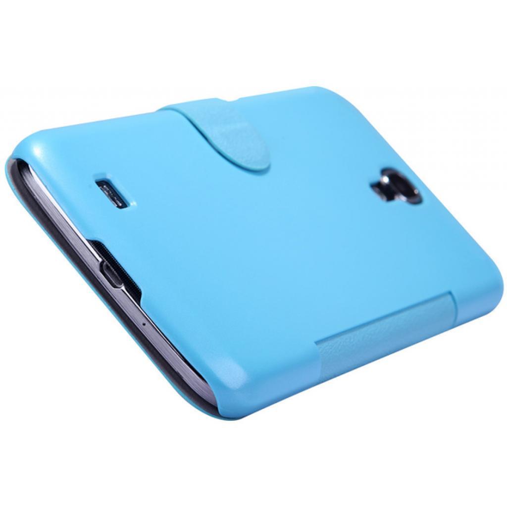Чехол для моб. телефона NILLKIN для Samsung I9200 /Fresh/ Leather/Blue (6065847) изображение 3