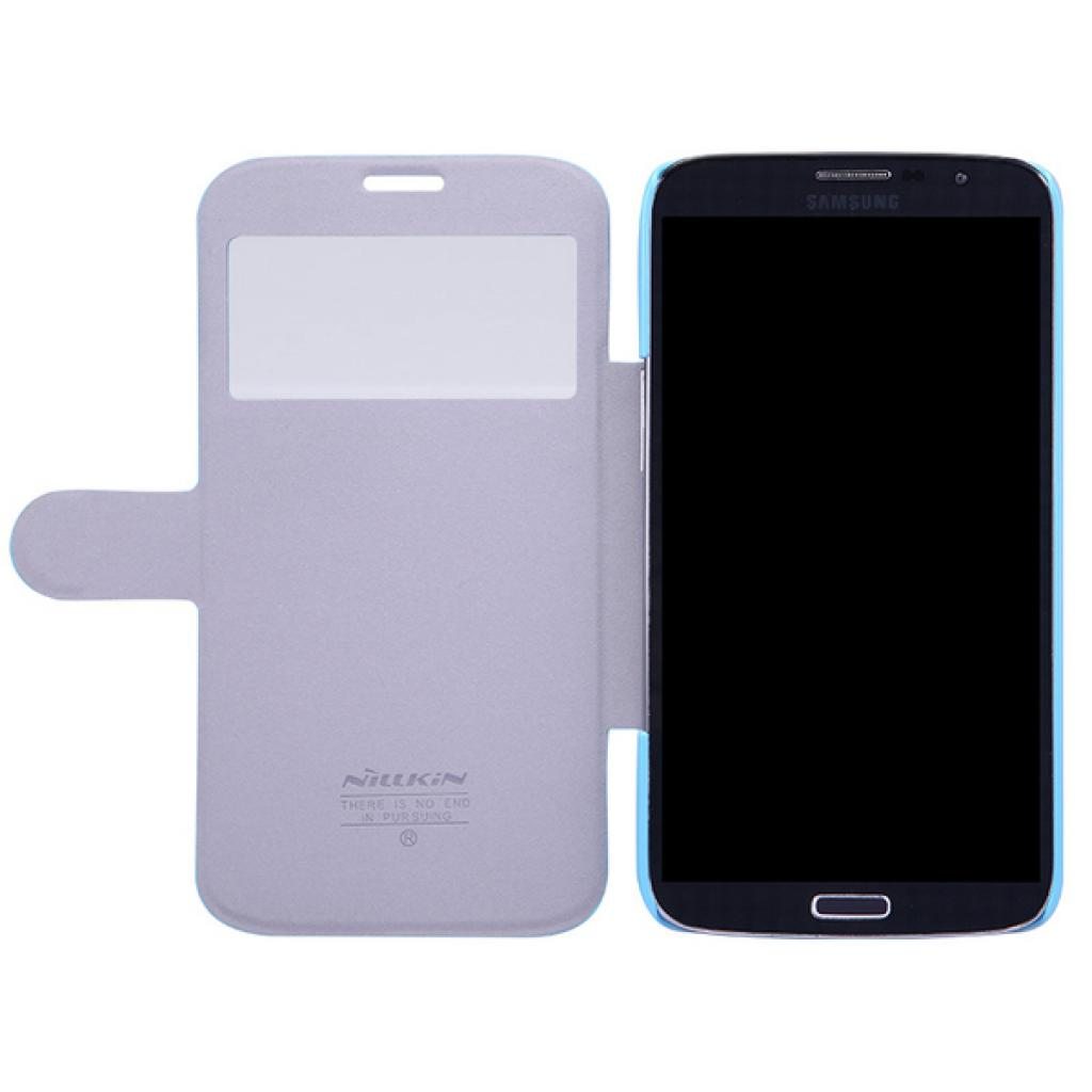 Чехол для моб. телефона NILLKIN для Samsung I9200 /Fresh/ Leather/Blue (6065847) изображение 4