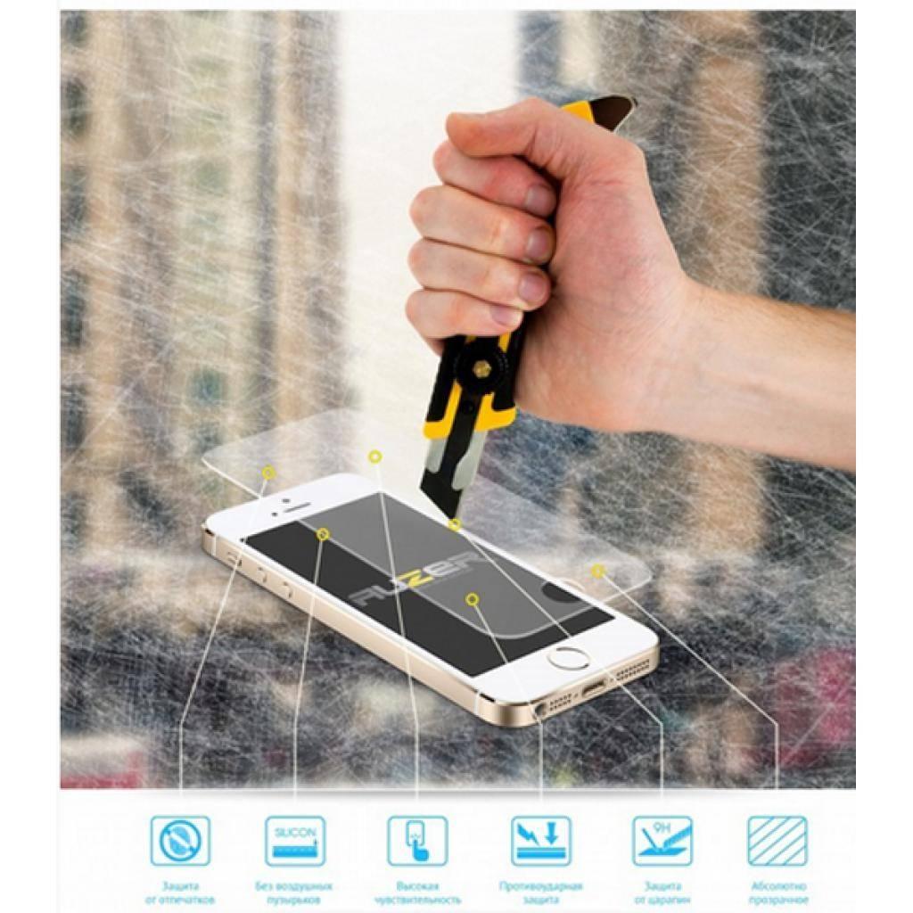 Стекло защитное AUZER для HTC One M7 (AG-SHO) изображение 3