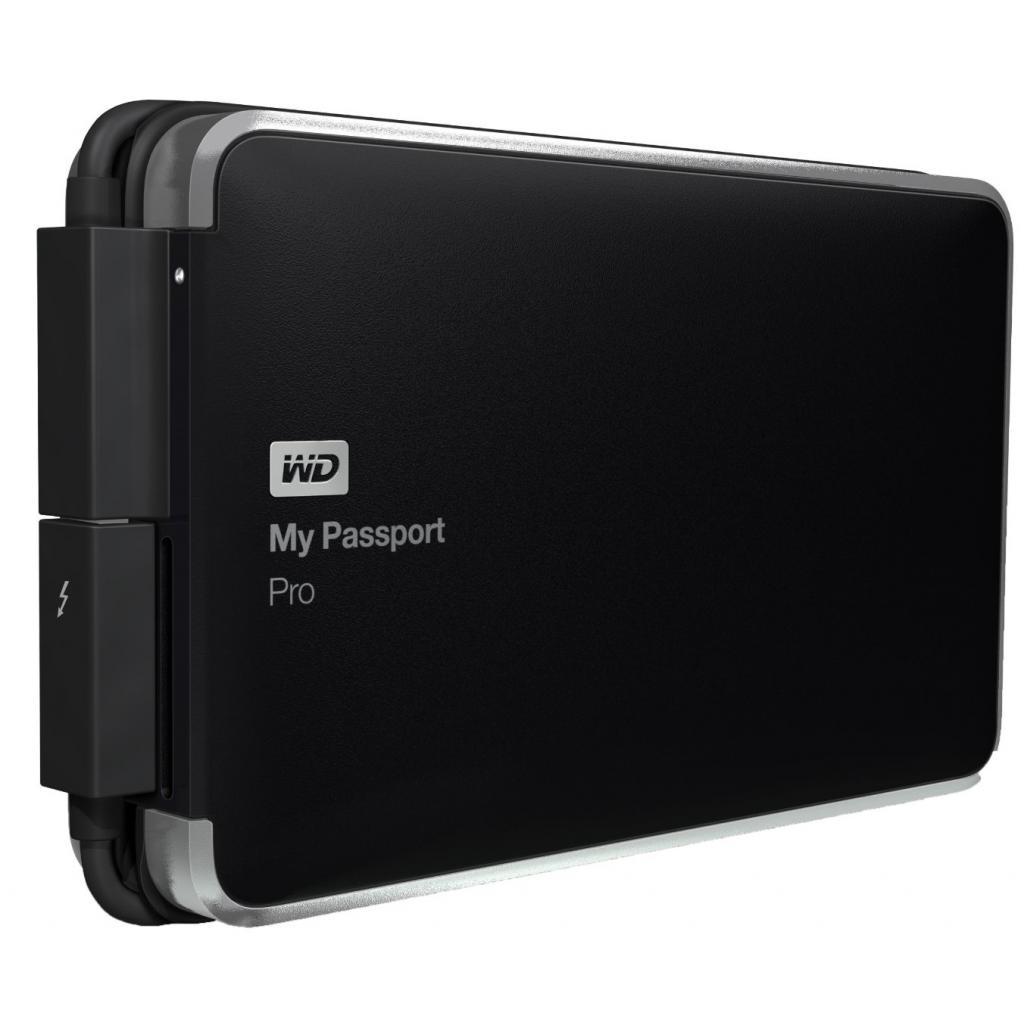 """Внешний жесткий диск 2.5"""" 2TB Western Digital (WDBRMP0020DBK-EESN) изображение 2"""