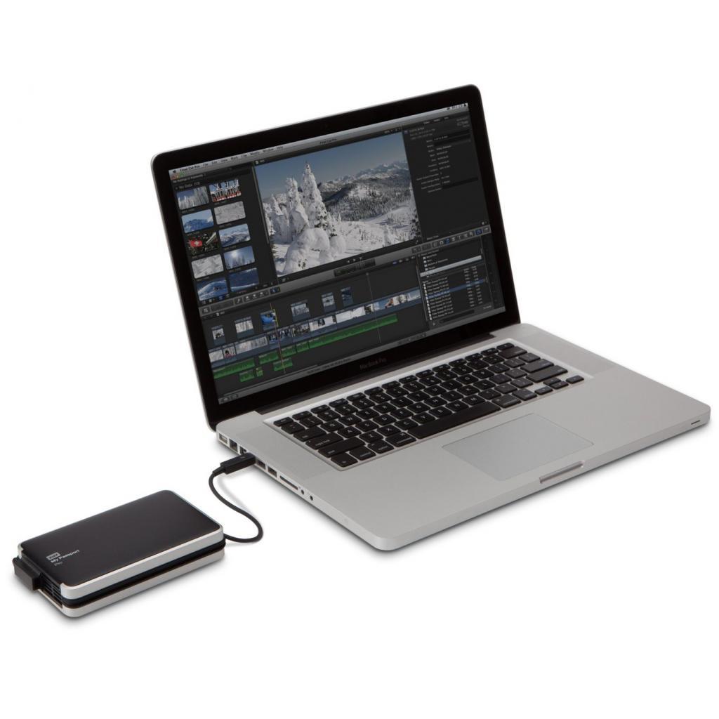"""Внешний жесткий диск 2.5"""" 2TB Western Digital (WDBRMP0020DBK-EESN) изображение 8"""