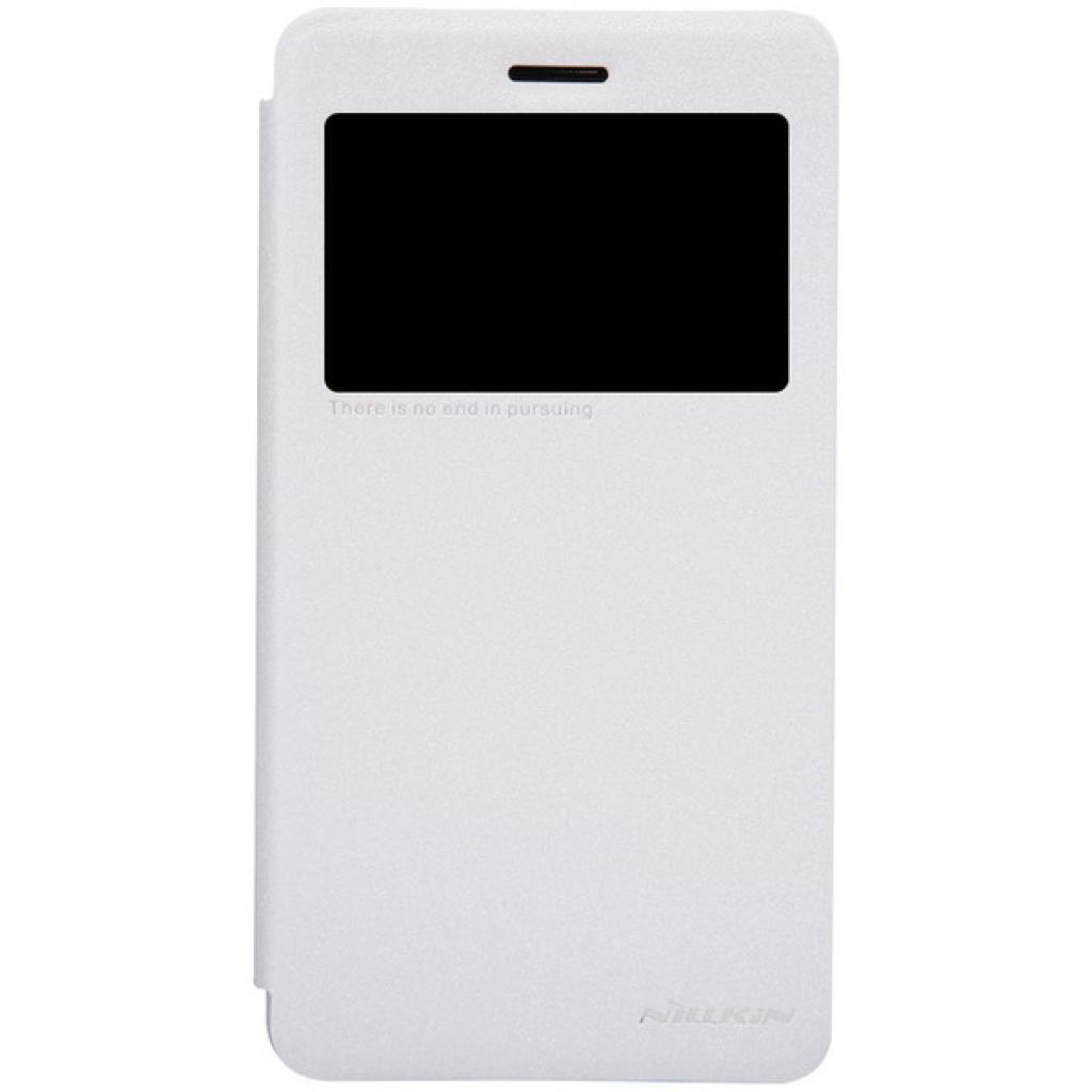 Чехол для моб. телефона NILLKIN для Lenovo S860 /Spark/ Leather/White (6154925)