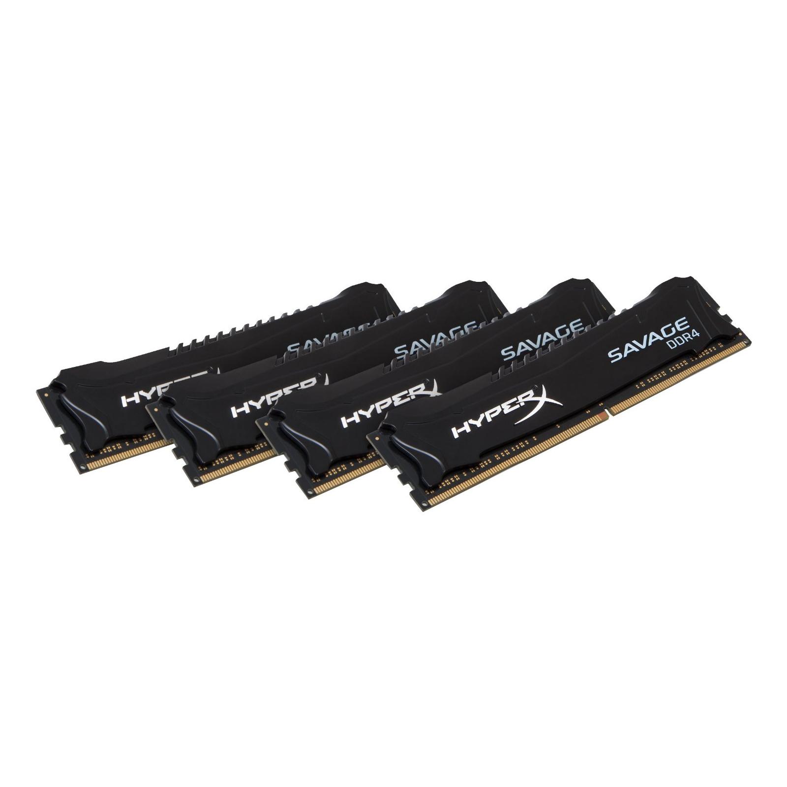 Модуль памяти для компьютера DDR4 32GB (4x8GB) 2800 MHz HyperX Savage Kingston (HX428C14SBK4/32) изображение 2