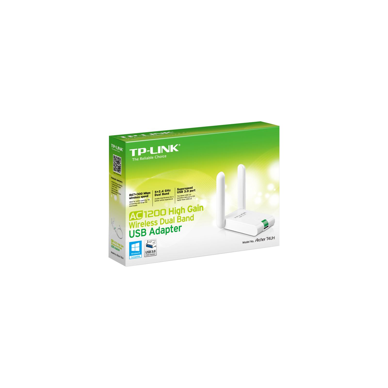 Сетевая карта Wi-Fi TP-Link Archer T4UH изображение 4