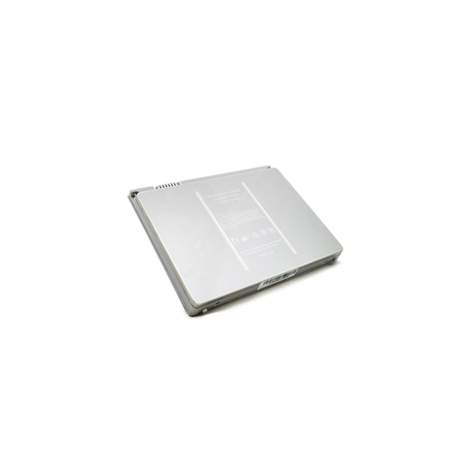 Аккумулятор для ноутбука Apple MacBook Pro 15 (A1175 Aluminum) 60Wh EXTRADIGITAL (BNA3917) изображение 5