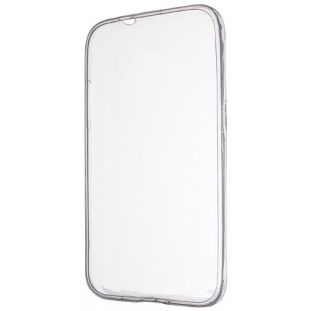 Чехол для моб. телефона Drobak Elastic PU для Samsung Galaxy A3 A310F White Clear (216989)