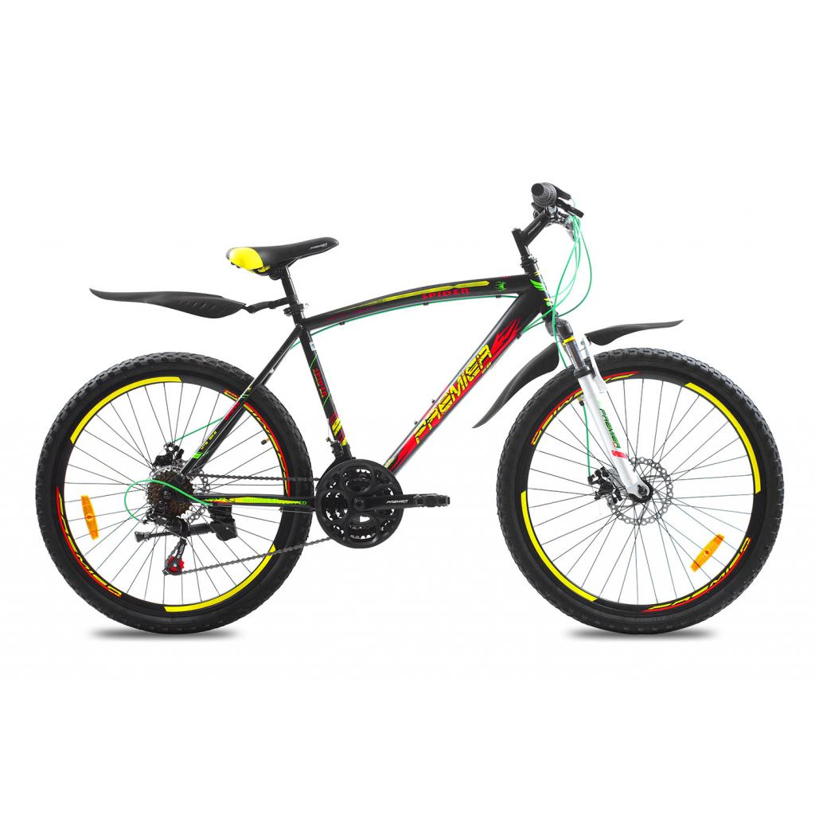 "Велосипед Premier Spider 26 Disc 19"" matt black (SP0001476)"
