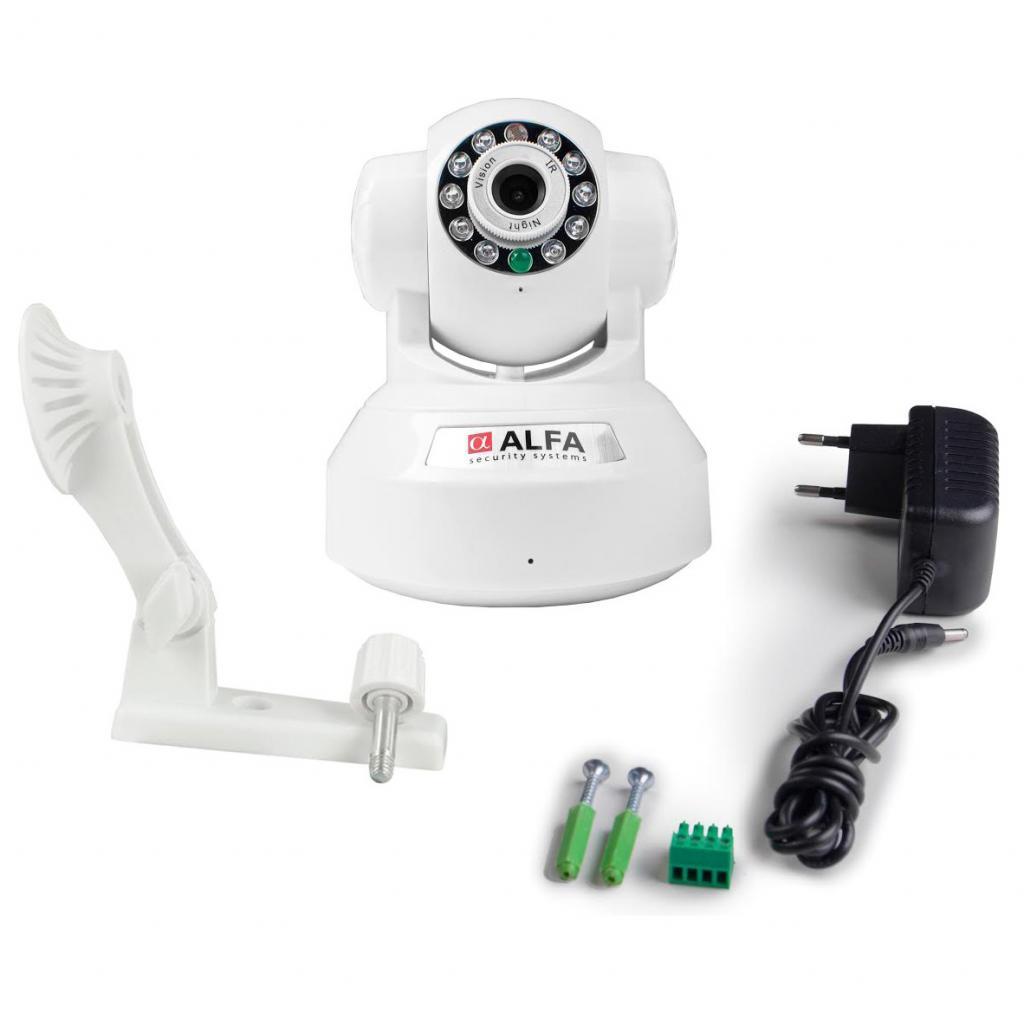 Камера видеонаблюдения ALFA Online Police 001 White изображение 4