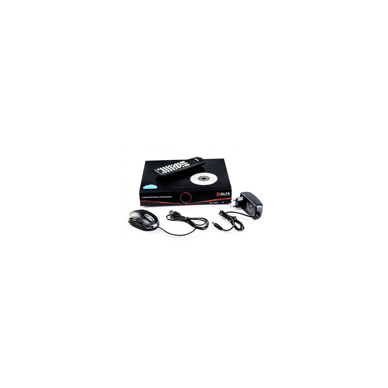 Регистратор для видеонаблюдения ALFA D6304S изображение 2