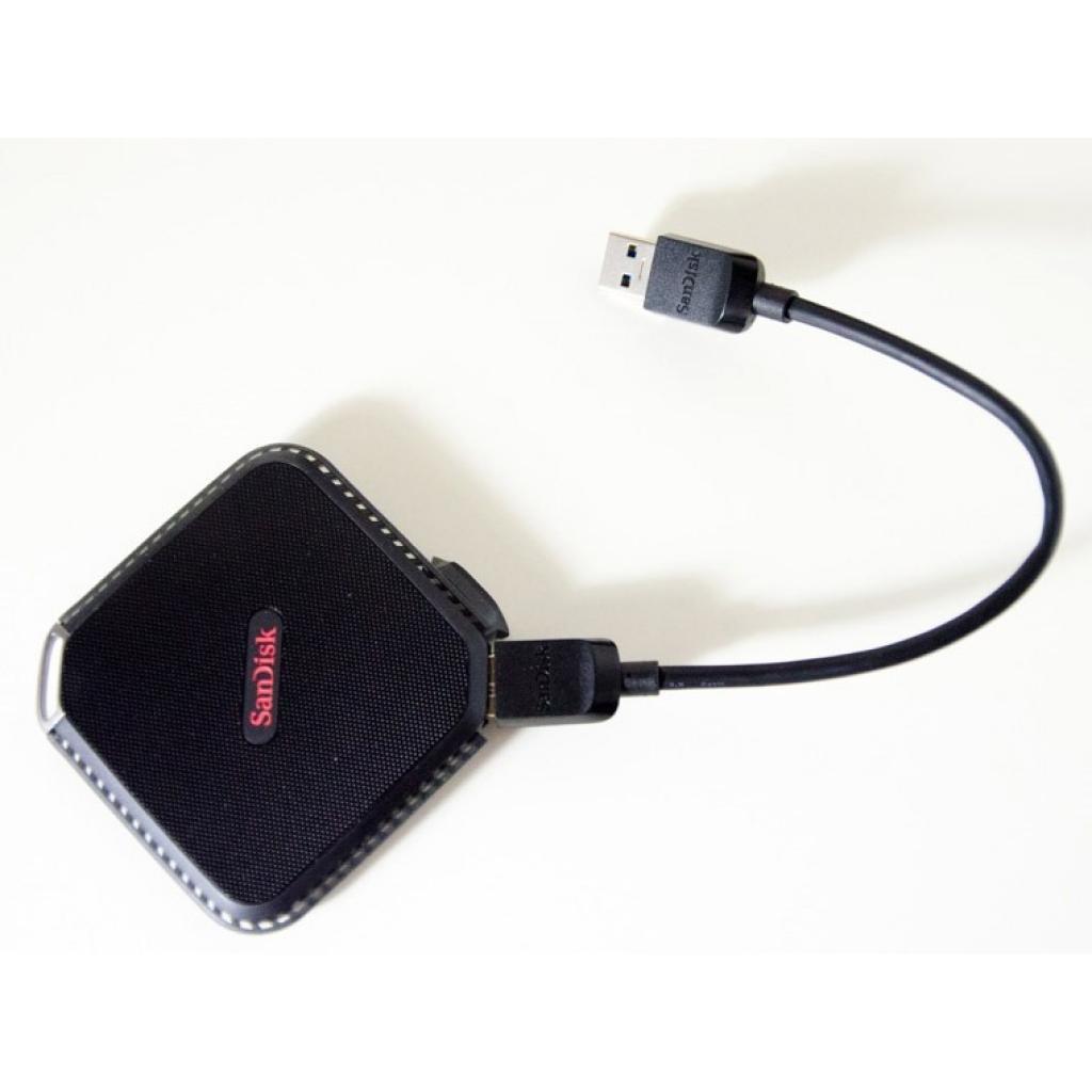 Накопитель SSD USB 3.0 120GB SANDISK (SDSSDEXT-120G-G25) изображение 6