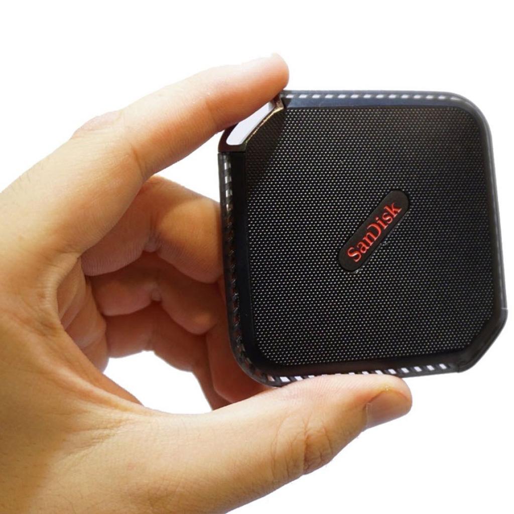 Накопитель SSD USB 3.0 120GB SANDISK (SDSSDEXT-120G-G25) изображение 7