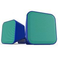 Акустическая система Speedlink SNAPPY Stereo Speakers, blue-turquoise (SL-810002-BETE)