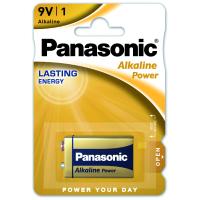 Батарейка PANASONIC Крона 6LR61 Alkaline Power * 1 (6LR61REB/1BP)