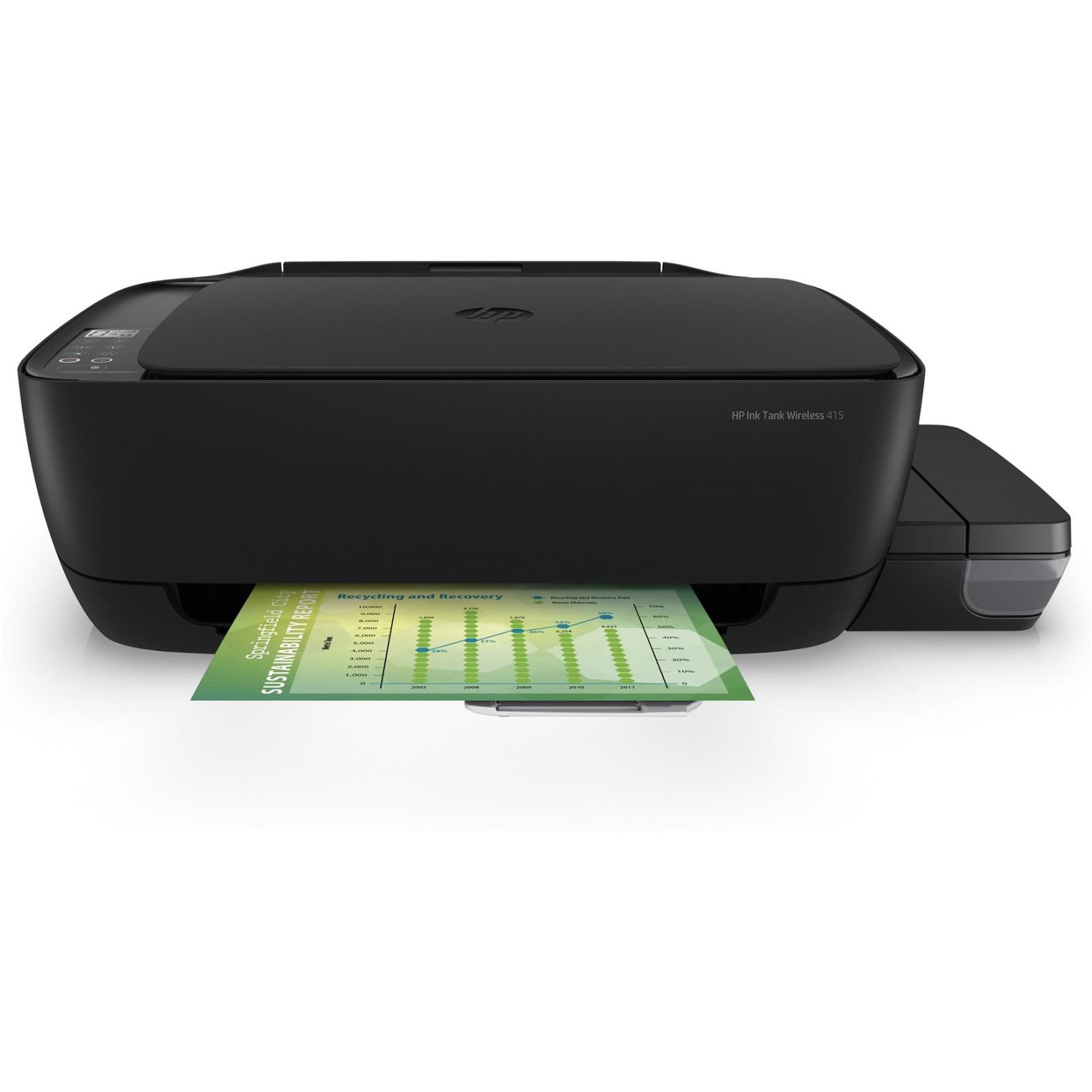 Многофункциональное устройство HP Ink Tank 415 c Wi-Fi (Z4B53A) изображение 2