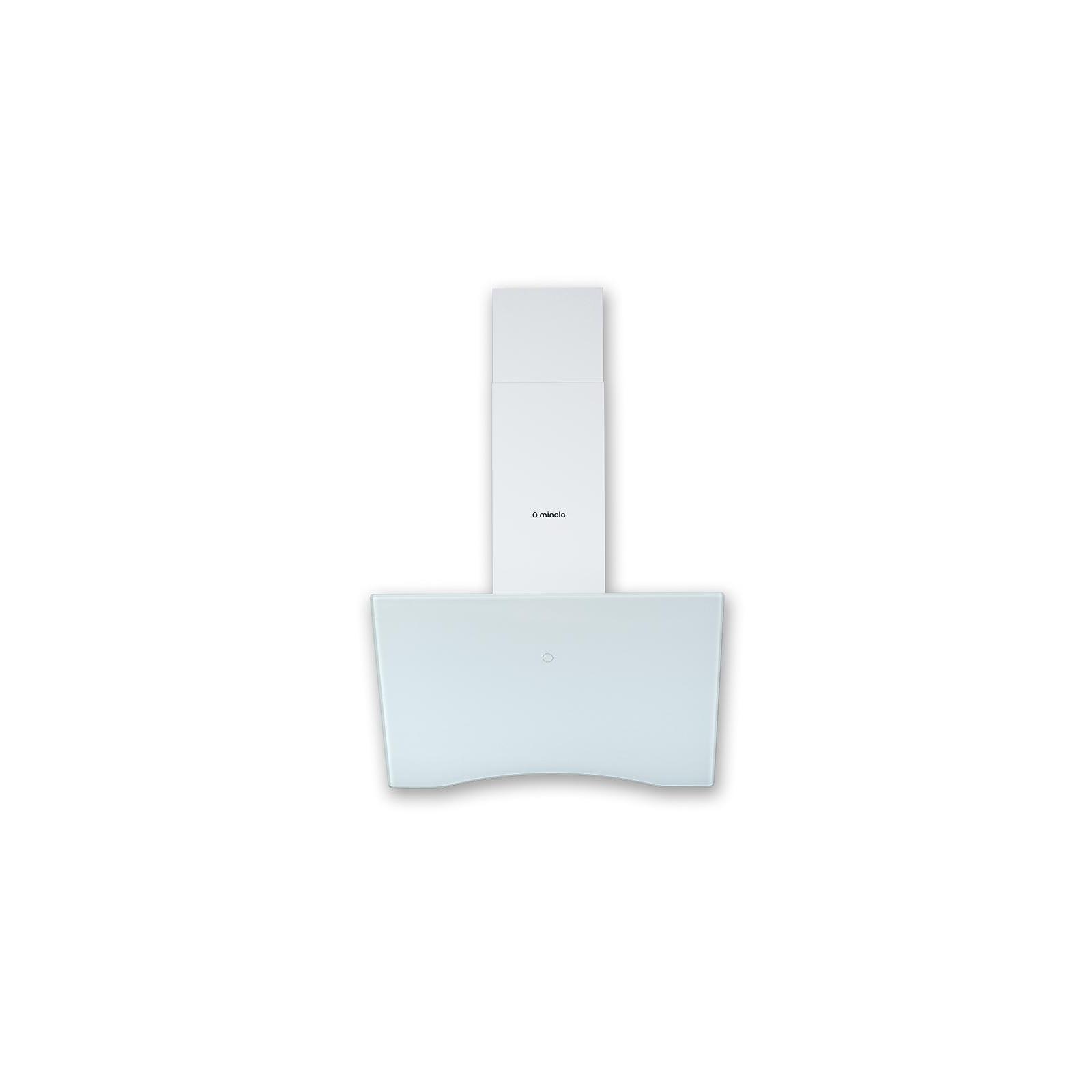 Вытяжка кухонная MINOLA HVS 6612 WH 1000 LED изображение 2