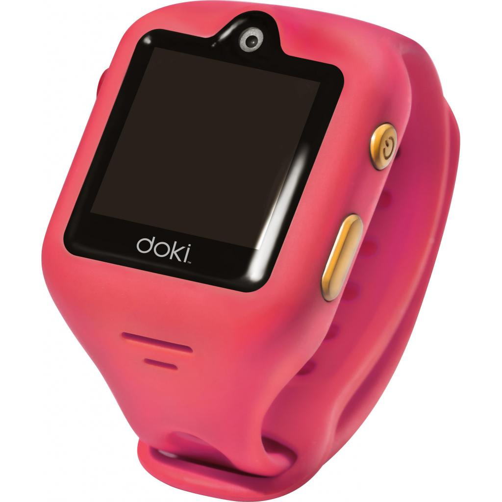Смарт-часы Doki Watch S Dazzle Pink с GPS (DOKIWATCH-2101-DP)