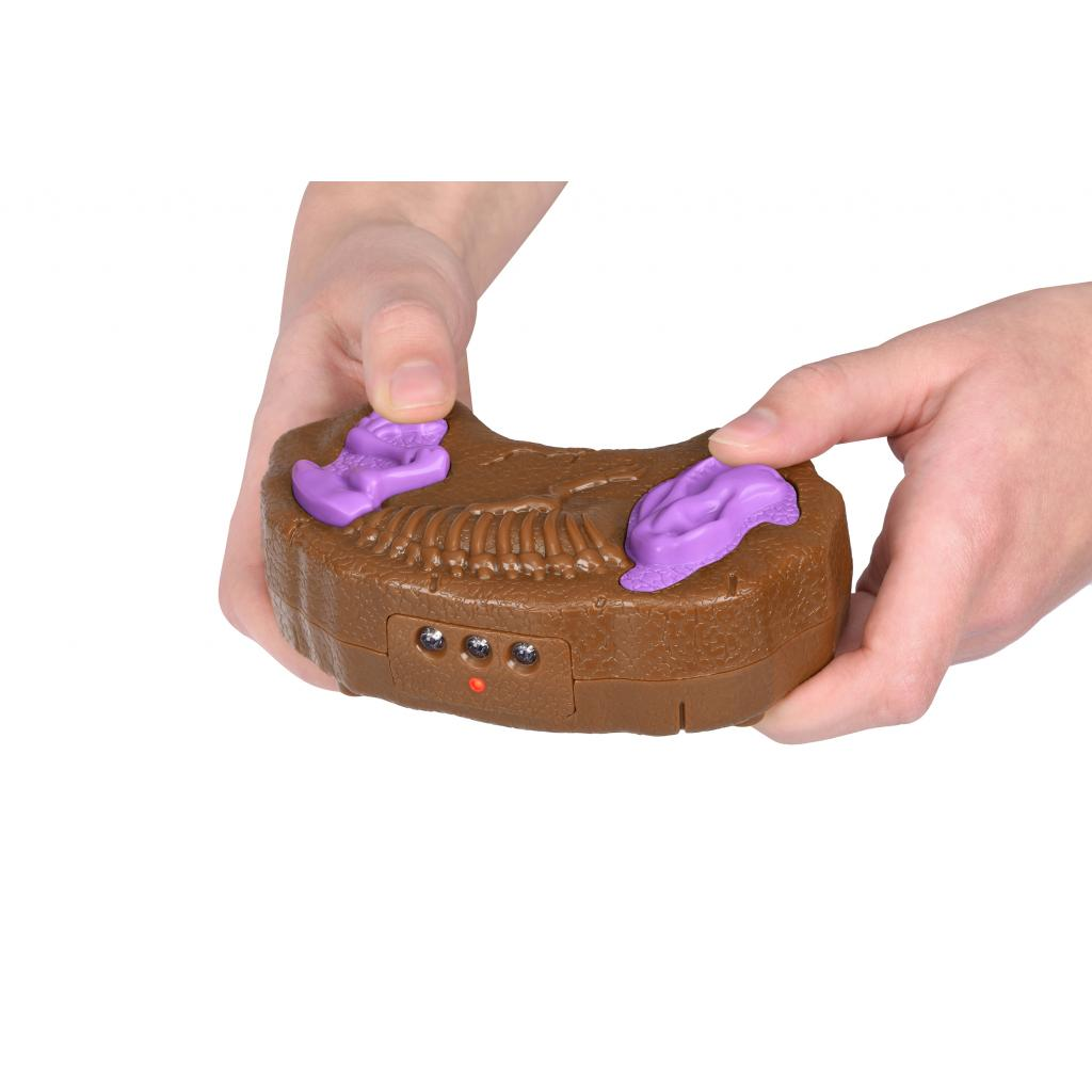 Интерактивная игрушка Same Toy Динозавр Dinosaur Planet коричневый со светом и звуком (RS6133Ut) изображение 2