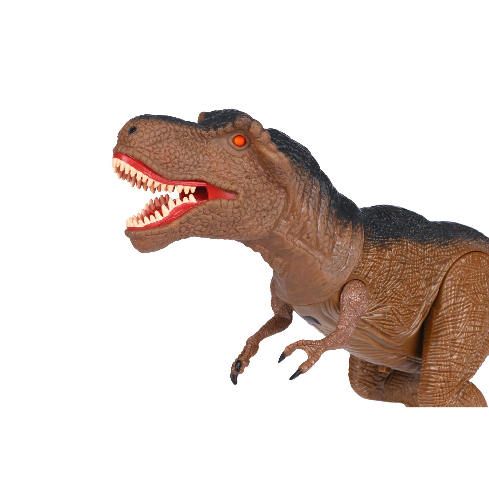 Интерактивная игрушка Same Toy Динозавр Dinosaur Planet коричневый со светом и звуком (RS6133Ut) изображение 3