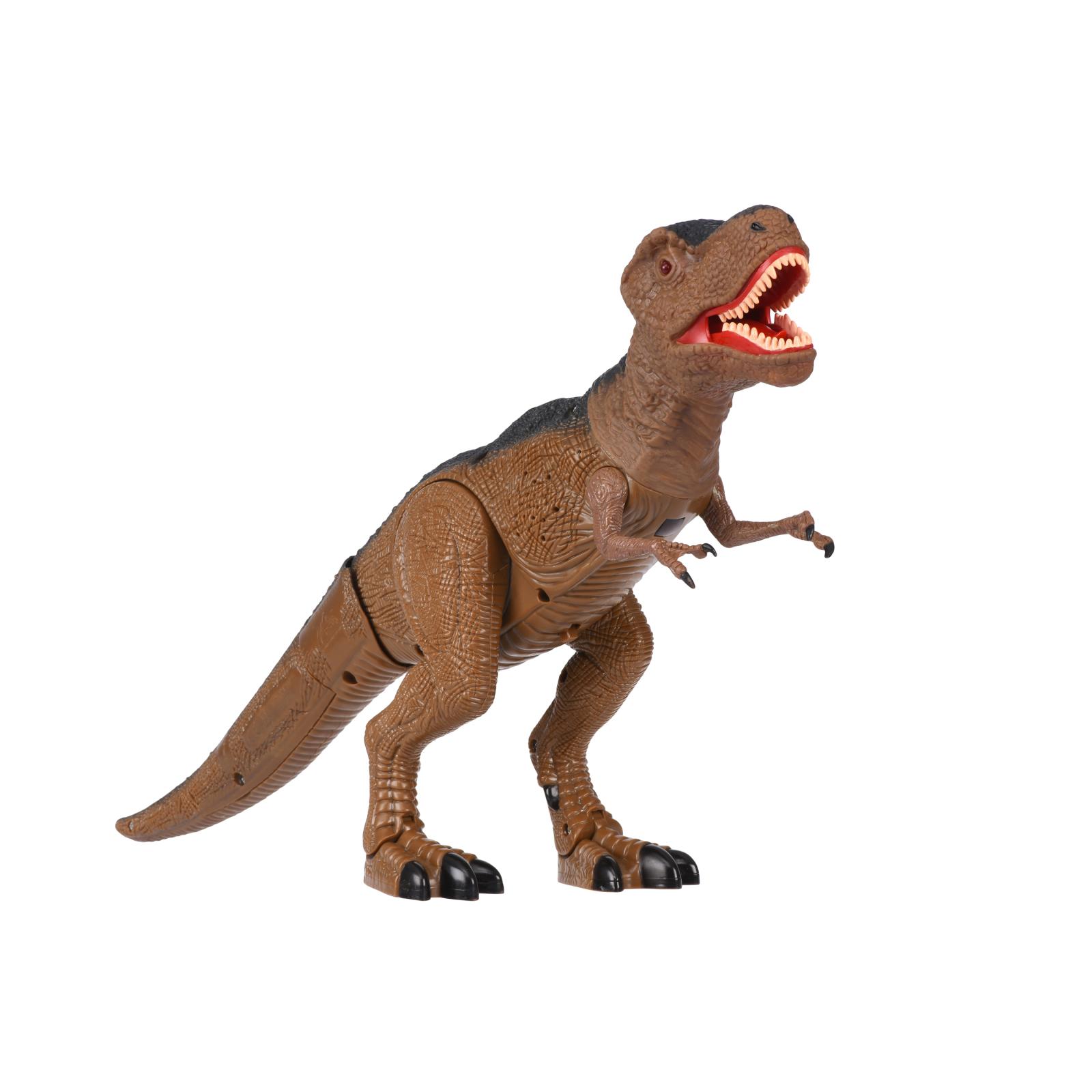 Интерактивная игрушка Same Toy Динозавр Dinosaur Planet коричневый со светом и звуком (RS6133Ut) изображение 4