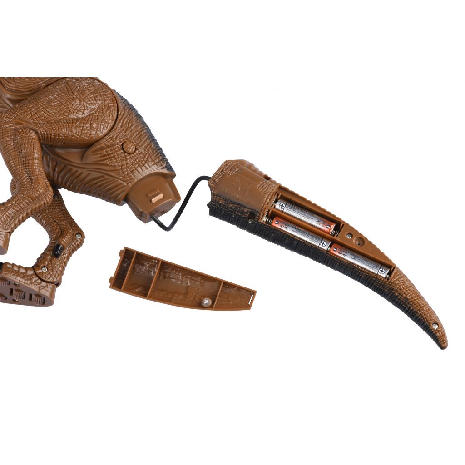 Интерактивная игрушка Same Toy Динозавр Dinosaur Planet коричневый со светом и звуком (RS6133Ut) изображение 5