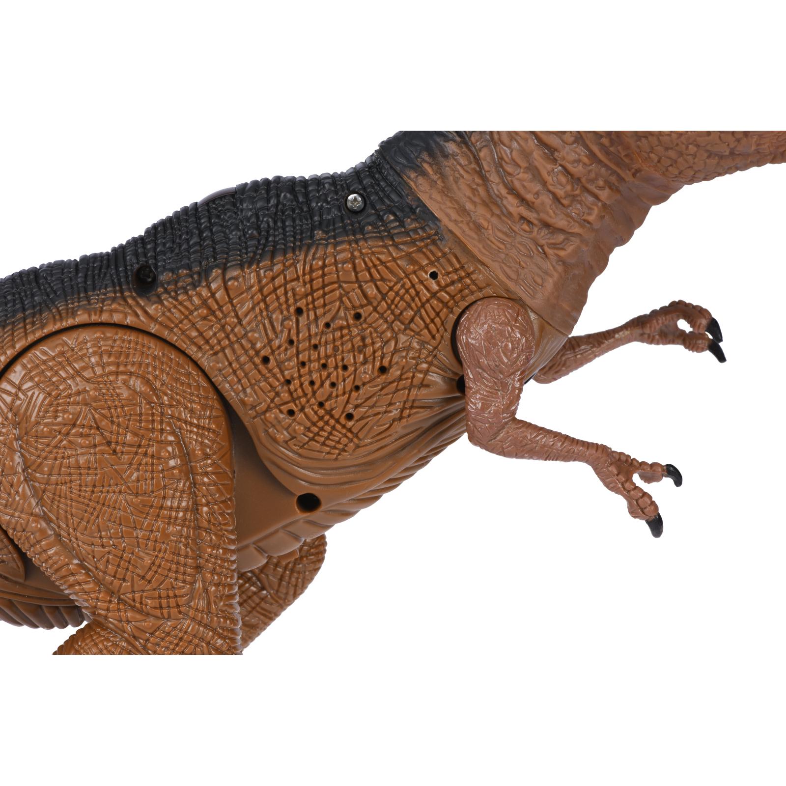 Интерактивная игрушка Same Toy Динозавр Dinosaur Planet коричневый со светом и звуком (RS6133Ut) изображение 6