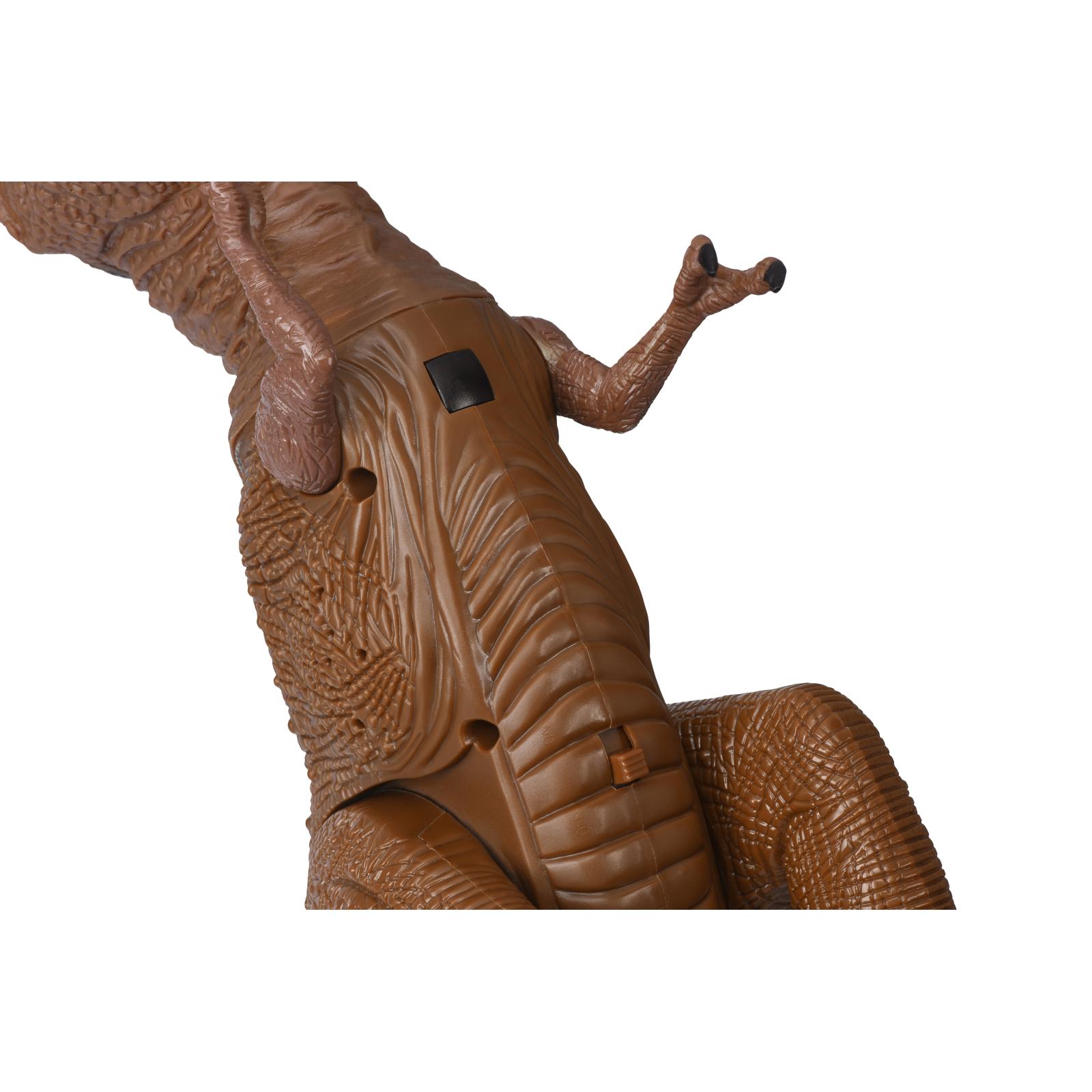 Интерактивная игрушка Same Toy Динозавр Dinosaur Planet коричневый со светом и звуком (RS6133Ut) изображение 9