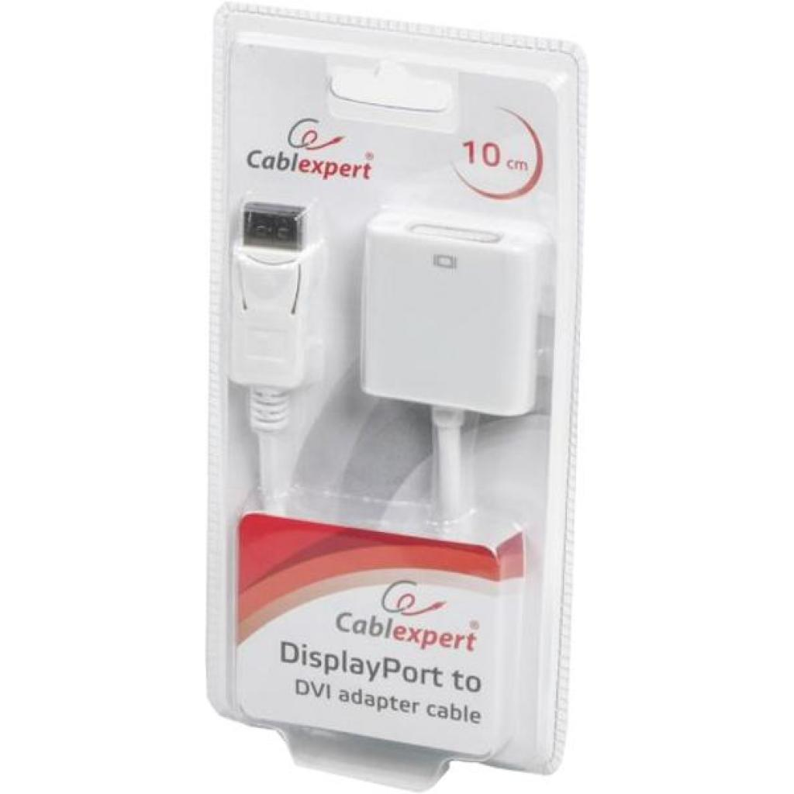 Переходник DisplayPort на DVI Cablexpert (AB-DPM-DVIF-002-W) изображение 2