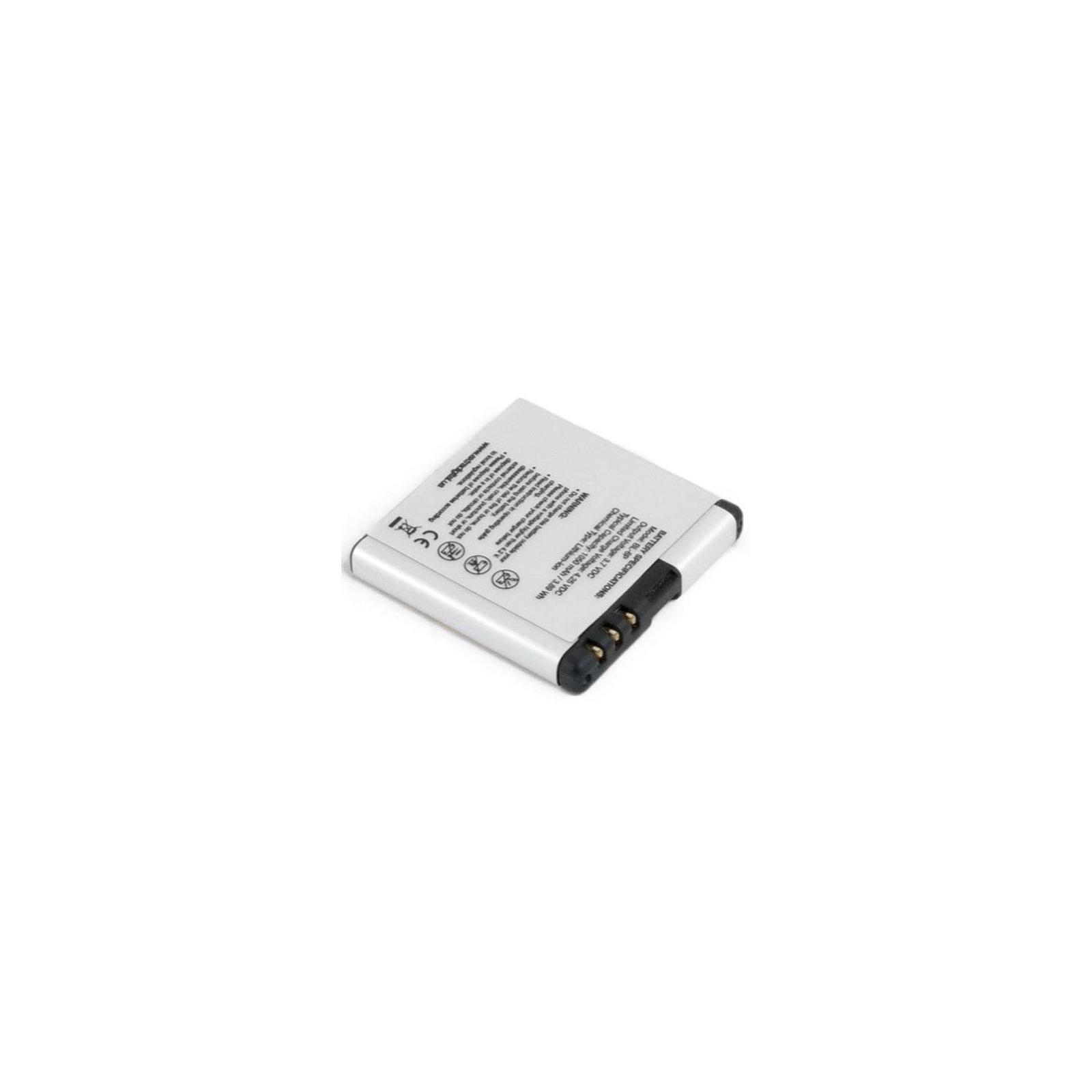 Аккумуляторная батарея EXTRADIGITAL Nokia BL-6P (1050 mAh) (BMN6282) изображение 5