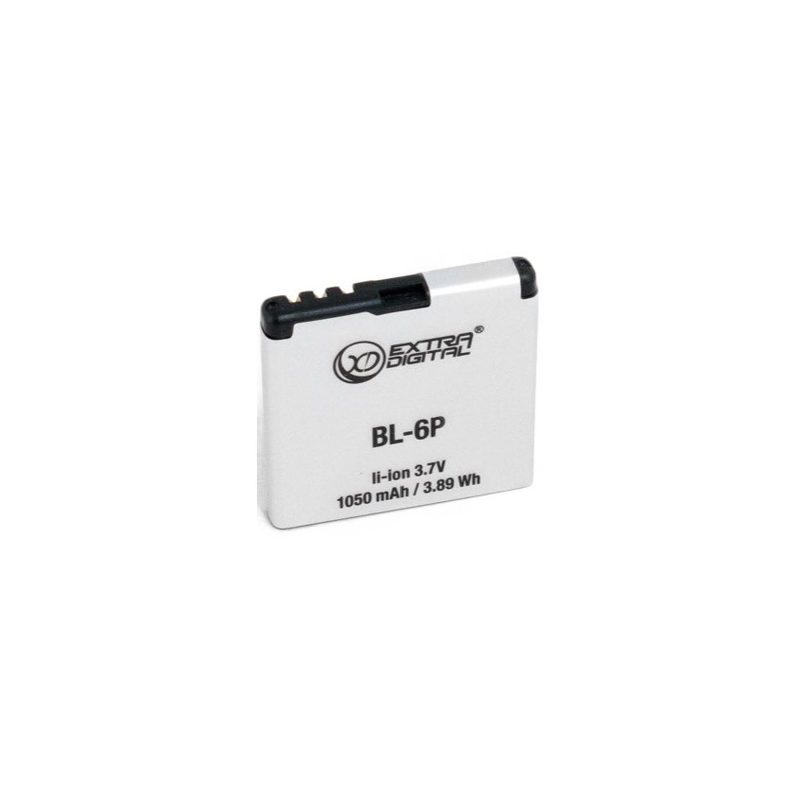 Аккумуляторная батарея EXTRADIGITAL Nokia BL-6P (1050 mAh) (BMN6282)