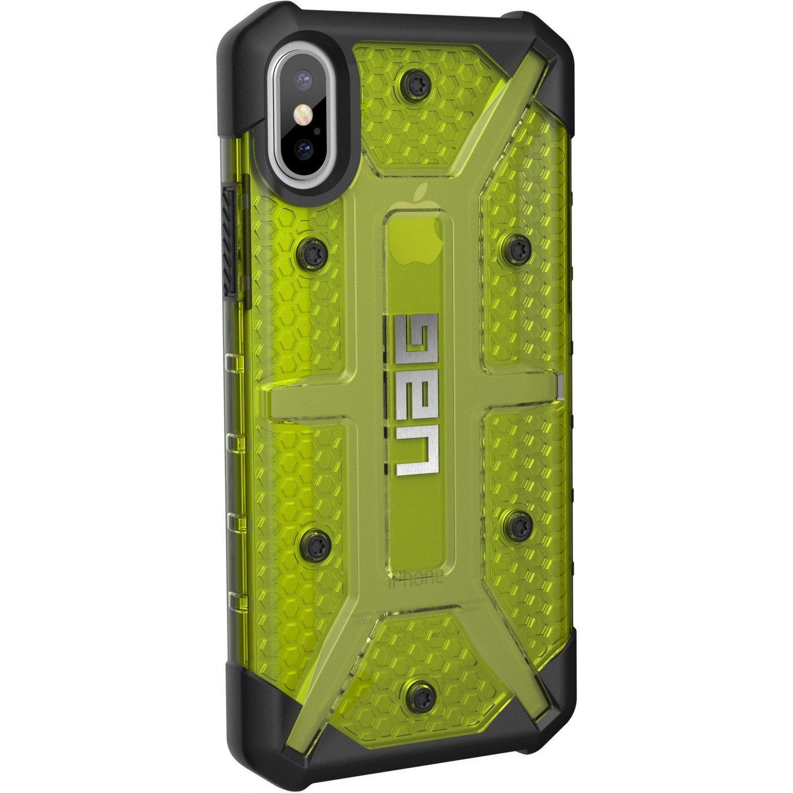 Чехол для моб. телефона Urban Armor Gear iPhone X Plasma Citron (IPHX-L-CT) изображение 3