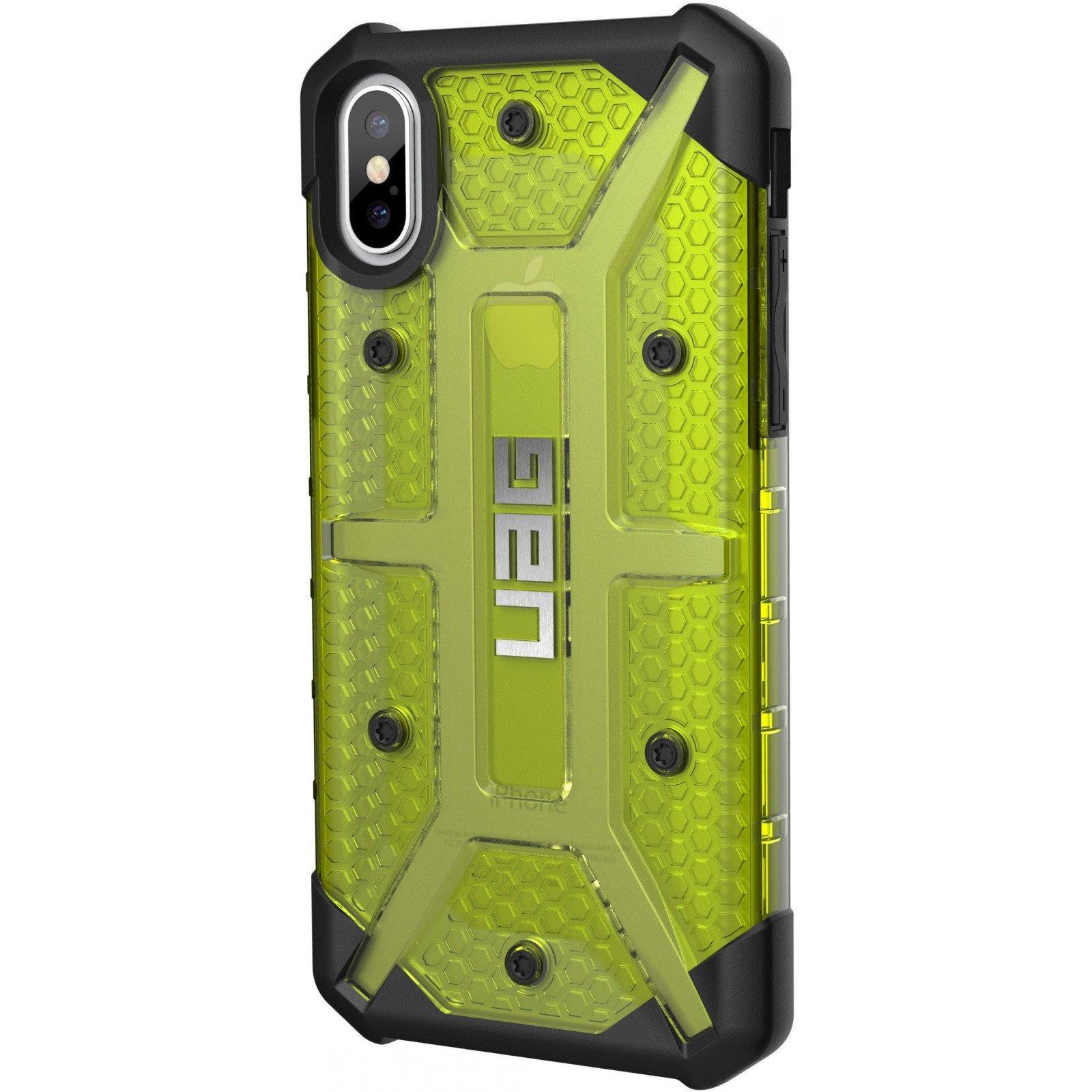 Чехол для моб. телефона Urban Armor Gear iPhone X Plasma Citron (IPHX-L-CT) изображение 4